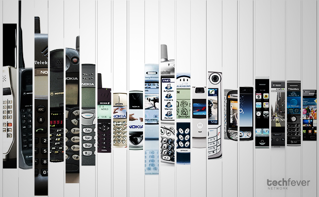 Cellular Phone Evolution Evolution-of-the-cell-phone